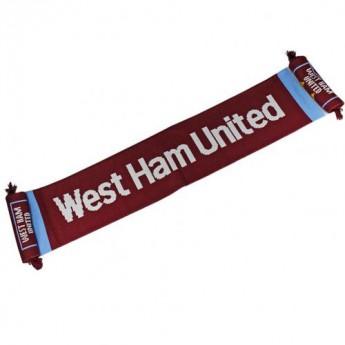 West Ham United zimní šála Scarf SS