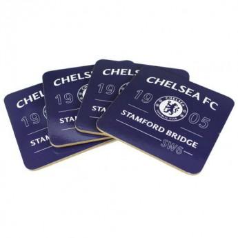 FC Chelsea set podtácků 4pk Coaster Set