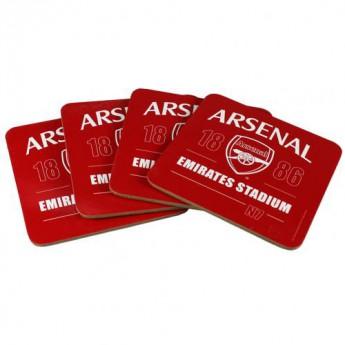 FC Arsenal set podtácků 4pk Coaster Set