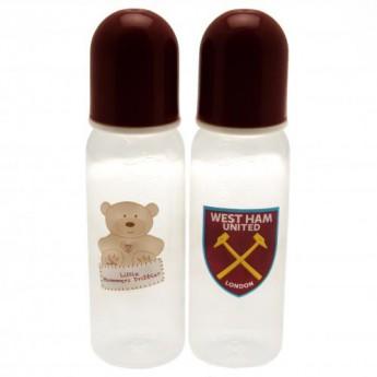 West Ham United dětská láhev 2pk Feeding Bottles