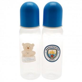Manchester City dětská láhev 2pk Feeding Bottles