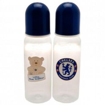 FC Chelsea sada láhví pro kojence 2 pcs Feeding Bottles