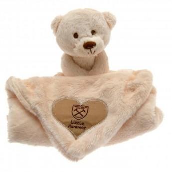 West Ham United dětská deka Baby Comforter Hugs
