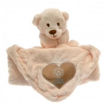 Manchester City dětská deka Baby Comforter Hugs