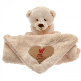 FC Liverpool dětská deka Baby Comforter Hugs