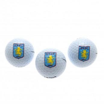 Aston Villa golfové míčky Golf Balls