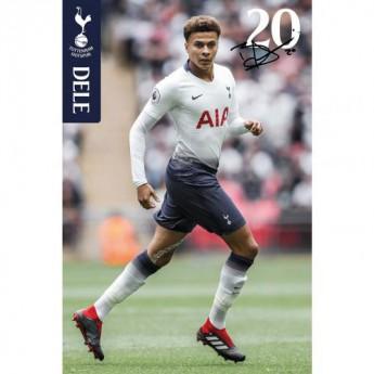 Tottenham Hotspur plakát Poster Dele 20