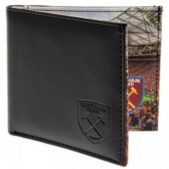 West Ham United kožená peněženka Panoramic Wallet