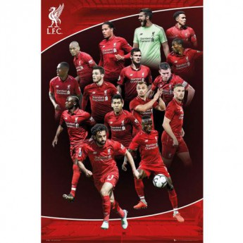FC Liverpool plakát Poster Players 23