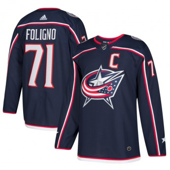 Columbus Blue Jackets hokejový dres #71 Nick Foligno adizero Home Authentic Player Pro