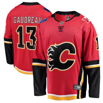 Calgary Flames hokejový dres fanatics #13 Johnny Gaudreau Breakaway Alternate Jersey