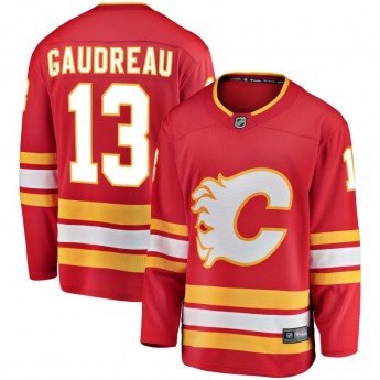 Calgary Flames hokejový dres red #13 Johnny Gaudreau Breakaway Alternate Jersey