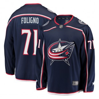 Columbus Blue Jackets hokejový dres #71 Nick Foligno Breakaway Alternate Jersey