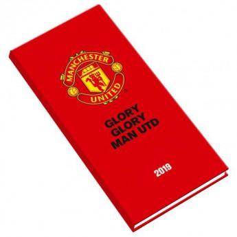 Manchester United kapesní diář red 2019