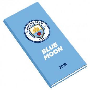 Manchester City kapesní diář blue 2019