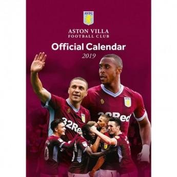 Aston Villa kalendář 2019 official A3