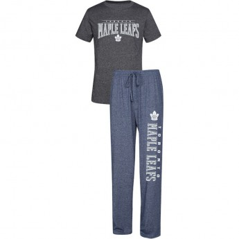 Toronto Maple Leafs pánské pyžamo Spar Top & Pants Sleep Set