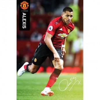 Manchester United plakát Alexis Sanchez 55