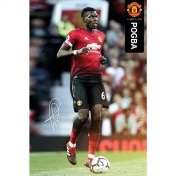 Manchester United plakát Pogba 49