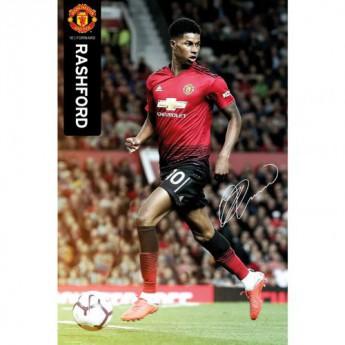 Manchester United plakát Rashford 46