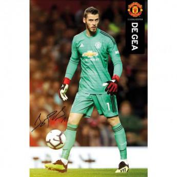 Manchester United plakát De Gea 38