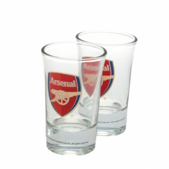 FC Arsenal panák štamprle 2pk Shot Glass Set