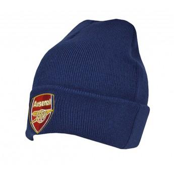 FC Arsenal čepice úpletová zimní blue logo