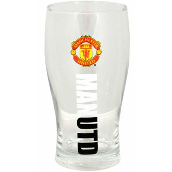 Manchester United sklenice logo ManUtd