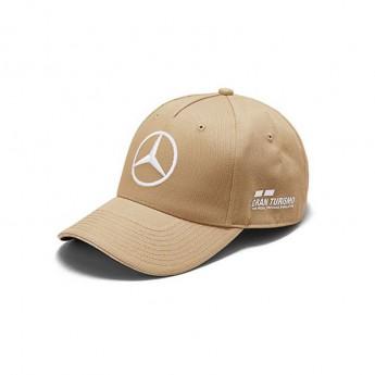 Mercedes AMG Petronas čepice baseballová kšiltovka brown Lewis Hamilton Austin F1 2018