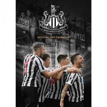 Newcastle United kalendář 2019 official A3