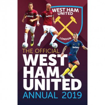 West Ham United kniha ročenka Annual 2019