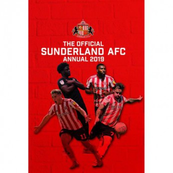 Sunderland kniha ročenka Annual 2019