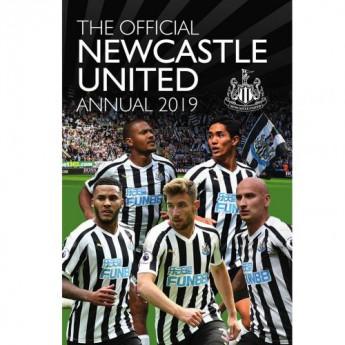 Newcastle United kniha ročenka Annual 2019
