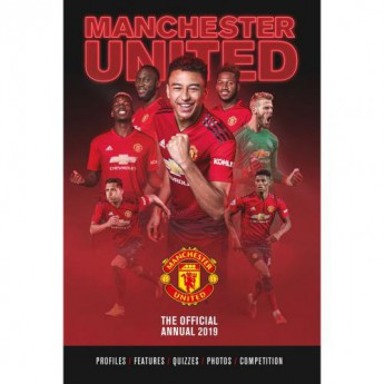 Manchester United kniha ročenka Annual 2019