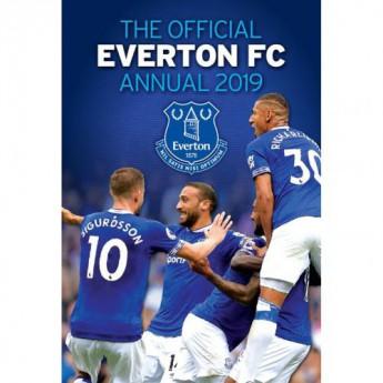 FC Everton kniha ročenka Annual 2019
