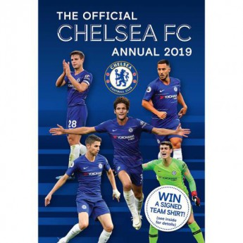 FC Chelsea kniha ročenka Annual 2019