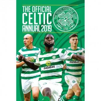 FC Celtic kniha ročenka Annual 2019