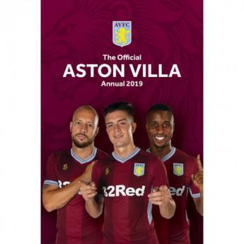 Aston Villa kniha ročenka Annual 2019