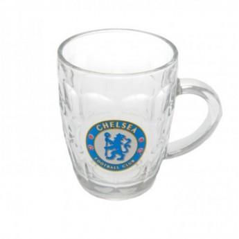 FC Chelsea Sklenice čirý korbel