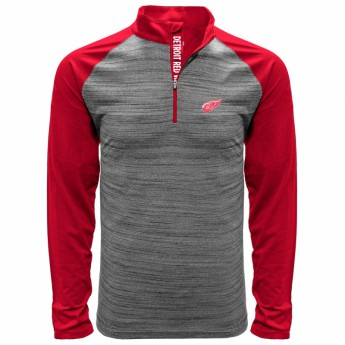 Detroit Red Wings pánská mikina grey Vandal Quarter Zip Midlayer