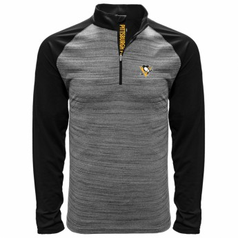 Pittsburgh Penguins pánská mikina grey Vandal Quarter Zip Midlayer