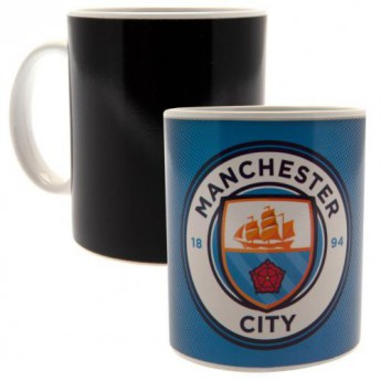 Manchester City hrníček Heat Changing Mug GR