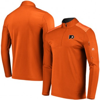 Philadelphia Flyers pánská bunda orange Ultra-Streak Cool Base Half-Zip