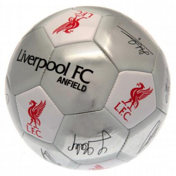 FC Liverpool fotbalový míč Football Signature SV