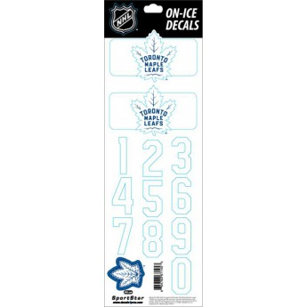 Toronto Maple Leafs samolepky na helmu Decals Royal