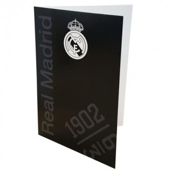 Real Madrid blahopřání Greetings Card BK