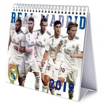 Real Madrid stolní kalendář 2019 official