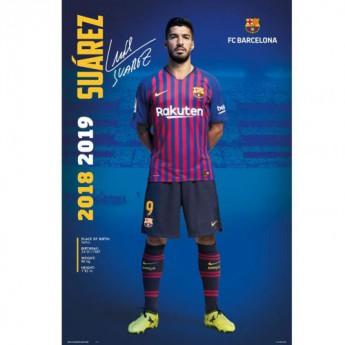 FC Barcelona plakát Suarez 30