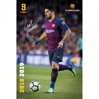 FC Barcelona plakát Suarez 28