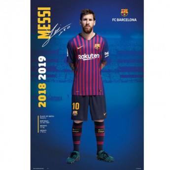 FC Barcelona plakát Messi 24